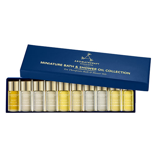 Miniature Bath Oil Collection New